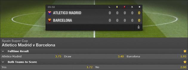 Atl Madrid-Barcelona Live