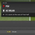 Psv-AC Milan Both teams to score