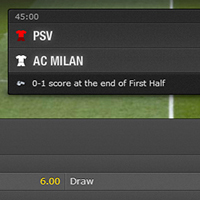 Psv-AC Milan Both teams to score