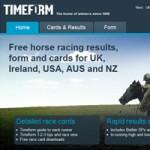 Timeform website