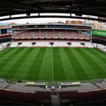 BILBAO, SPAIN - APRIL 05:  A general view of the Sans Mames stadium on April 5, 2012 in Bilbao, Spain.  (Photo by Matthew Lewis/Getty Images)
