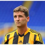 Sport for Phil Buckingham - 27-7-13 Pre season friendly game between Hull City and Birmingham City at St Andrews, Birmingham. Pictured is Alex Bruce.    Final score Birmingham 2 - Hull 1 Picture: Peter Harbour