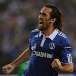 Schalke's Austrian defender Christian Fu