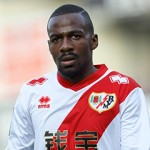 Rayo Vallecano Midfielder, Gael Kakuta - KAKUTA, number 12 . Round 12 of the BBVA league, soccer match between Rayo Vallecano - Celta de Vigo at the Vallecas stadium, Madrid - Spain by November 23, 2014. . PUBLICATIONxINxGERxSUIxAUTxHUNxONLY  Rayo Valle Cano Midfield Gael Kakuta Kakuta Number 12 Round 12 of The BBVA League Soccer Match between Rayo Valle Cano Celta de Vigo AT The Vallecas Stage Madrid Spain by November 23 2014 PUBLICATIONxINxGERxSUIxAUTxHUNxONLY