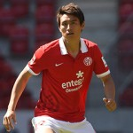 18.07.2014, xjhx, Fussball 1.Bundesliga, FSV Mainz 05 Fototermin v.l. Ja-Cheol Koo (FSV Mainz 05) FREISTELLER  18 07 2014  Football 1 Bundesliga FSV Mainz 05 Photo call v l yes Cheol Koo FSV Mainz 05 cut out