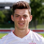 BAU // Stuttgart Fußball VfB Stuttgart II Fototermin Saison 2013/2014, Tim Leibold