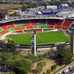 Fotografia aérea do Estádio da Portuguesa de Desportos em São Paulo - SP
