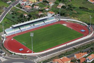 FUTEBOL - Vista aera do Estadio do Machico, em Machico. Domingo, 17 de Fevereiro de 2008. (ASPRESS/HELDER SANTOS)
