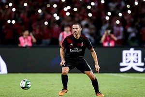 Bonucci is expected to be the heart of Milan's defense.