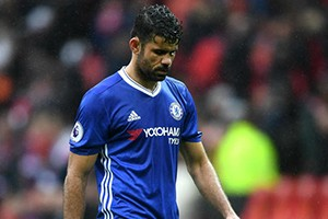 Diego Costa remains in Brazil as he bids to force a move to Atlético Madrid.