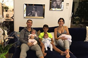 In 2017 the Portuguese not only increased his trophy room, but also his family.