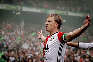 Dirk Kuyt fulfilled his dream of being champion with Feyenoord, breaking an 18-year fast at the club.